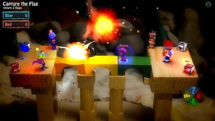 Imagine Bomberman com uma jogabilidade totalmente nova (Foto: Divulgação)