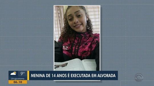 Adolescente de 14 anos é morta a tiros em Alvorada