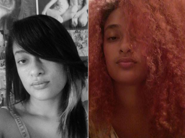 Luana Gonçalves alisou o cabelo por 9 anos, e a gravidez foi o empurrão que faltava para voltar ao natural (Foto: Arquivo Pessoal/Luana Gonçalves)