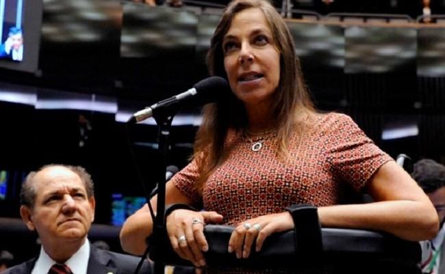 A deputada Mara Gabrilli, do PSDB