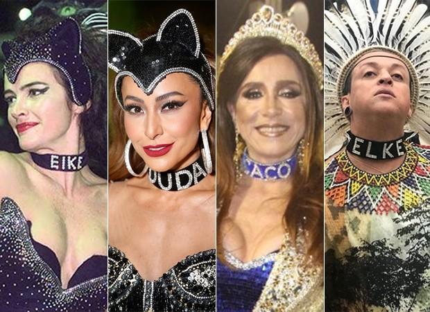 Luma de Oliveira inspira look de Carnaval (Foto: Ed Globo)