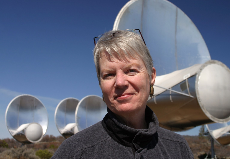 Astrônoma Jill Tarter, do SETI (Foto: SETI)