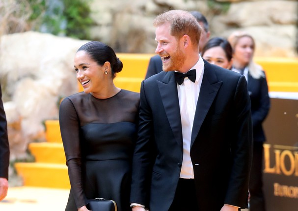 Prince Harry e Meghan (Foto: Getty Images)