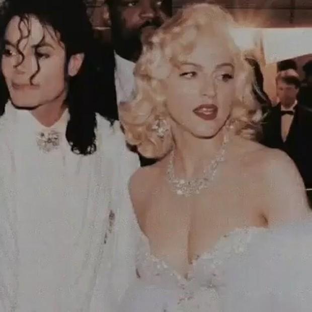 Madonna e Michael Jackson (Foto: Reprodução / Instagram)