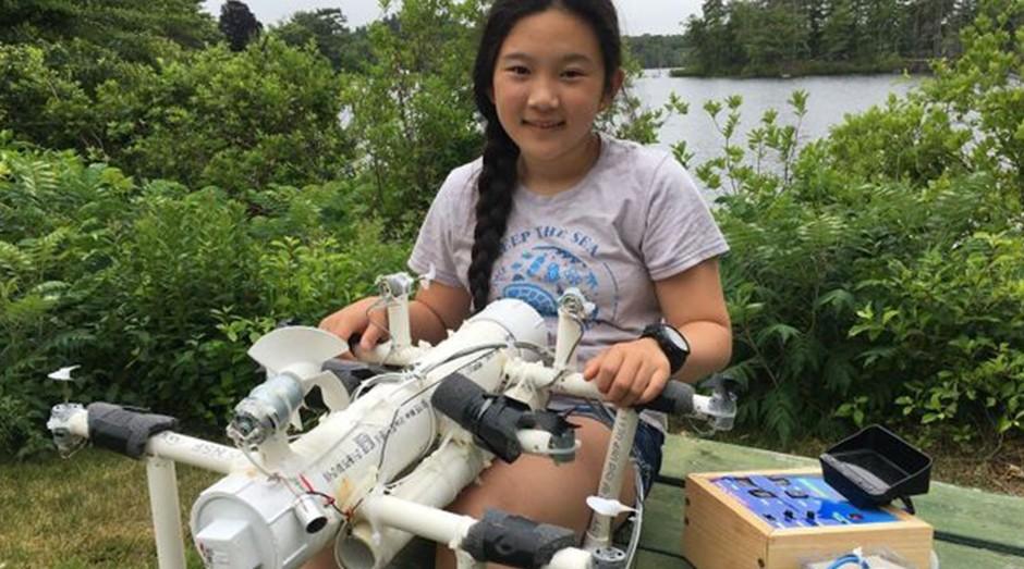 Anna Du, criadora do identificador de micropartículas de plástico (Foto: Divulgação)