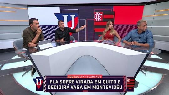 """Paulo Nunes minimiza altitude após derrota do Flamengo em Quito: """"Não é desculpa"""""""