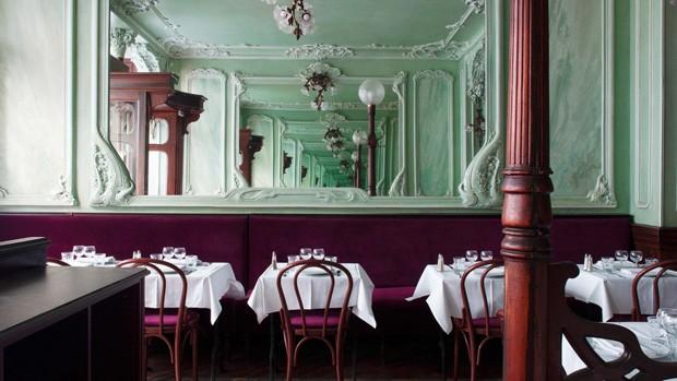 4 ideias de decoração que amamos neste restaurante parisiense