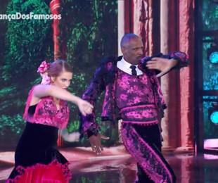 Robson Caetano na semifinal da 'Superdança dos famosos' | Reprodução