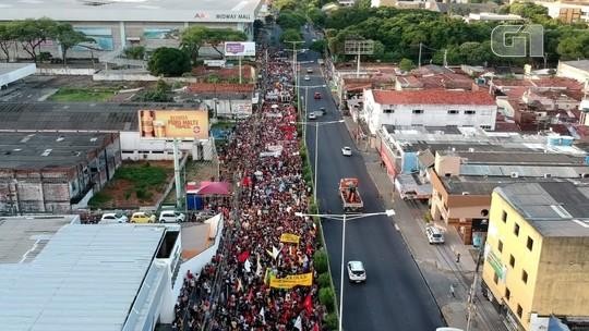 Cidades do Rio Grande do Norte registram atos em defesa da educação