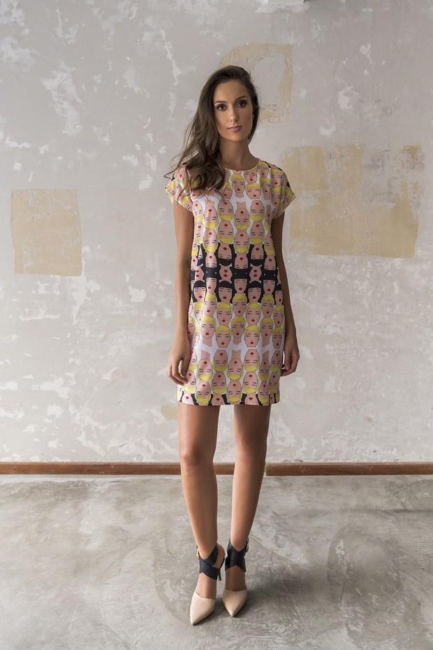 Vestido da coleção de estreia da Dress for Freedom (Foto: Divulgação)