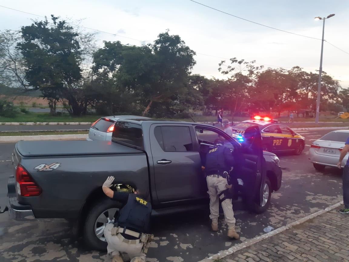 PRF prende quadrilha especializada em roubo e furto de veículos no MA