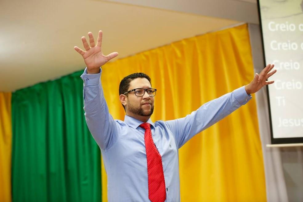 Pastor Ericsson Roza Soares (Foto: Reprodução/Facebook)