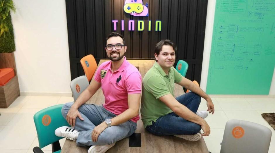Eduardo Schroeder e Fábio Rogério fundadores da Tindin (Foto: Divulgação)