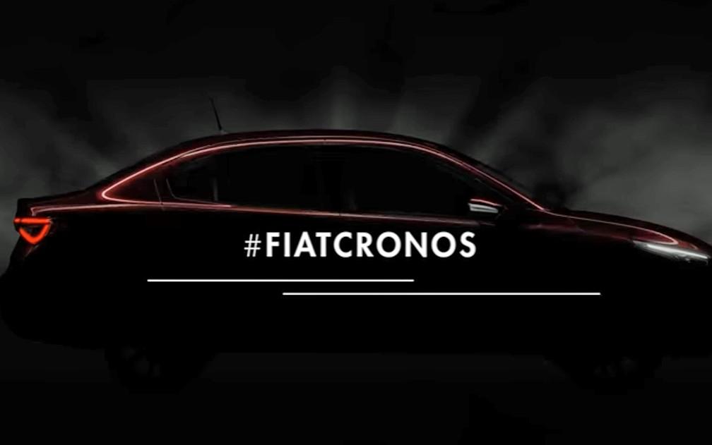 Fiat Cronos tem primeiras imagens divulgadas (Foto: Divulgação/Fiat)
