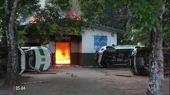 Homens da Força Nacional reforçam a luta contra o garimpo ilegal em Humaitá (AM)
