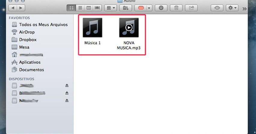 Como compactar arquivos no Mac OS X com função nativa