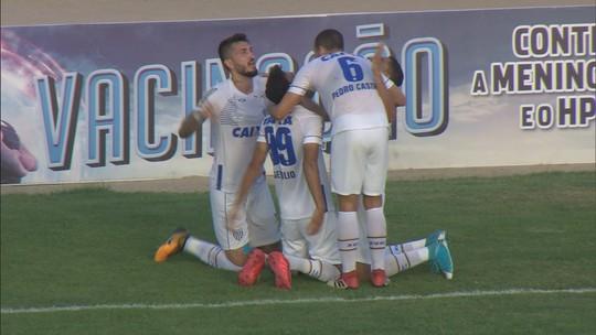 Confira o gol da vitória do Avaí sobre o CSA em Alagoas