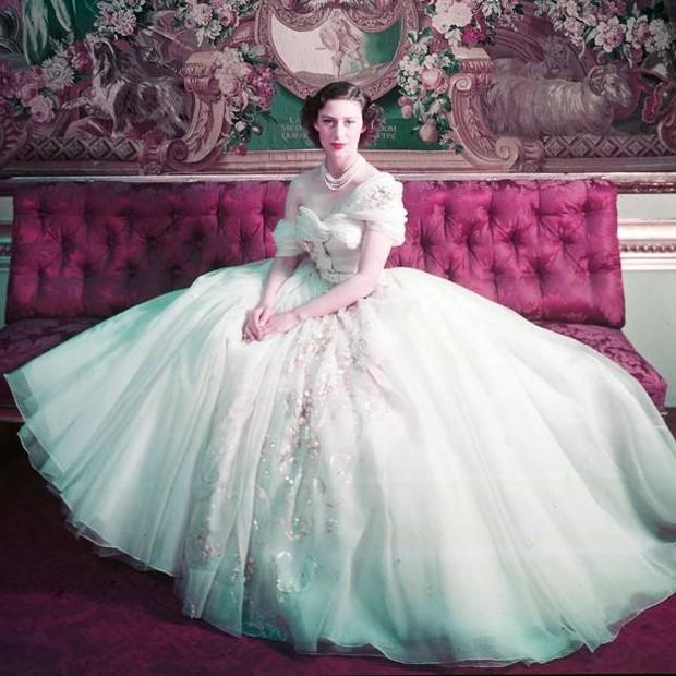 Princess Margaret, 1949 (Foto: Reprodução/ COURTESY OF CHRISTIAN DIOR)
