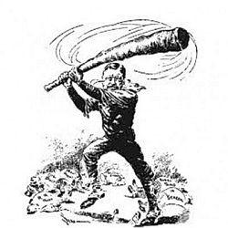 Baixando o pau, descendo o cacete (Foto: Arquivo Google)