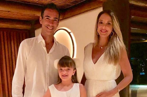 César Tralli, Tici Pinheiro e Rafa Justus (Foto: Reprodução/Instagram)