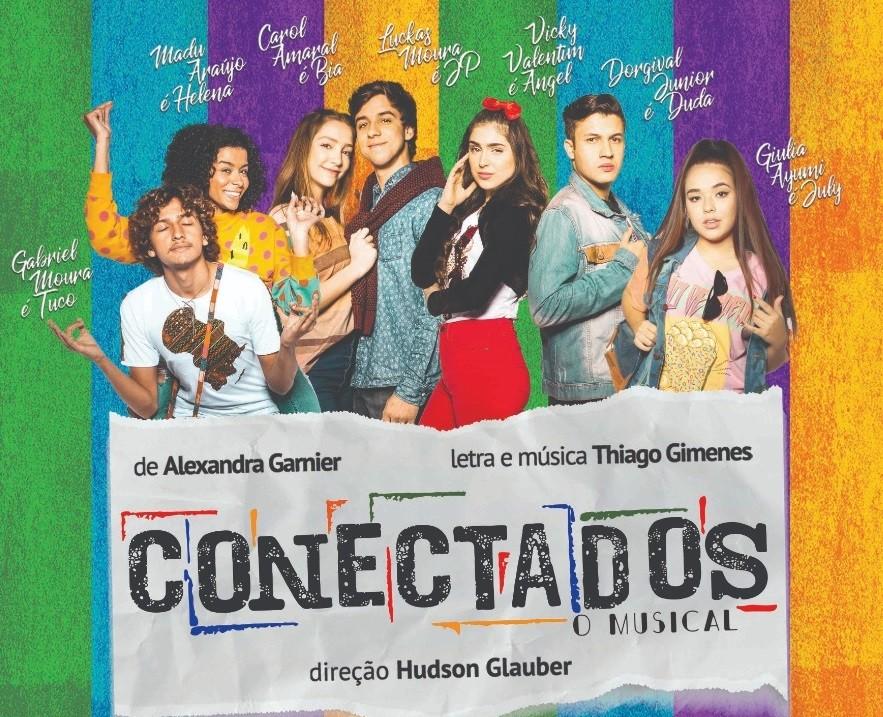 Espetáculo 'Conectados O Musical' retrata paixão pela música no sábado em Volta Redonda - Notícias - Plantão Diário