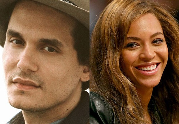 John Mayer e Beyoncé (Foto: Getty Images)
