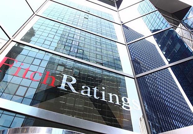 Fachada da agência de classificação de risco Fitch em Nova York ; ratings (Foto: Getty Images)