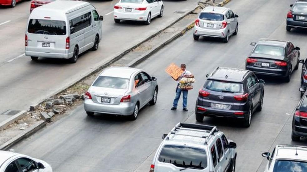 O caminho mais curto para o trabalho nem sempre é o mais eficiente — Foto: Getty Images via BBC