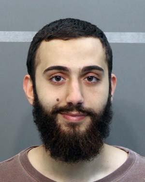 Foto de abril de 2015 mostra Mohammad Youssduf Adbulazeer, identificado como o atirador em centros militares no Tennessee nesta quinta-feira (16), depois de ser detido por infração de trânsito (Foto: Hamilton County Sheriffs Office via AP)
