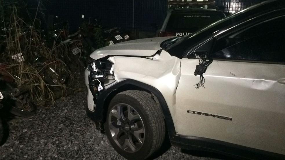 Médica dirigia um carro SUV, um Jeep Compass (Foto: Divulgação)