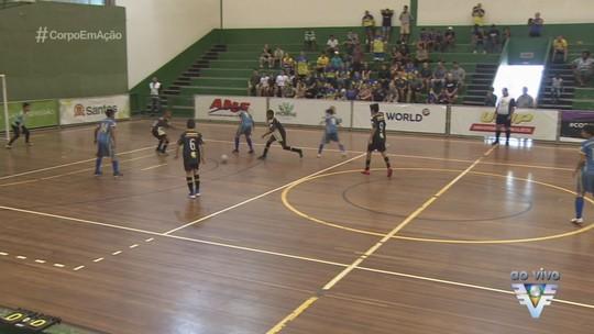 Ginásio do Rebouças recebe jogos da 17ª Copa TV Tribuna de Futsal