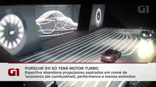 Porsche 911 chega com novos motores turbo ao Brasil