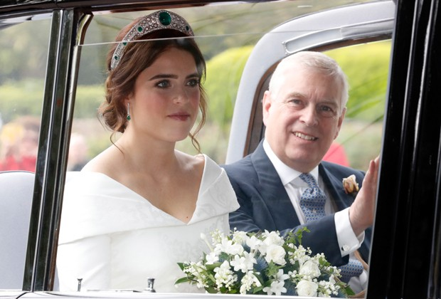 Princesa Eugenie of York om o pai, príncipe Andrew (Foto: Getty Images)