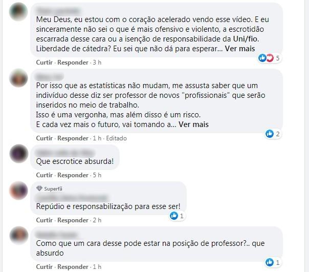 Professor de direito causa polêmica após fala sobre mulheres em aula online: 'O que é mais fácil estuprar?'