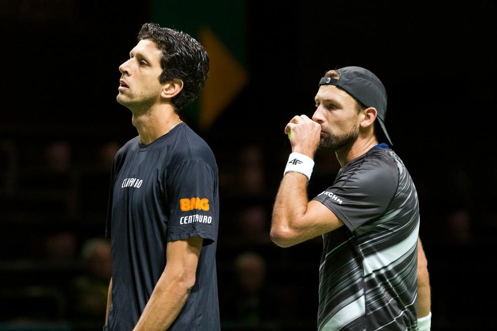 53e930f4b4d ... Marcelo Melo e Lukasz Kubot defendem o título da competição — Foto   Divulgação   ATP