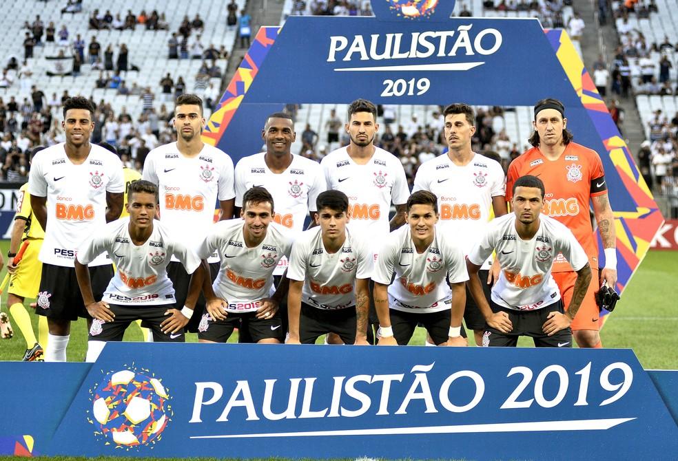 Corinthians vence a Ponte Preta por 1 a 0 na Arena — Foto: Marcos Ribolli