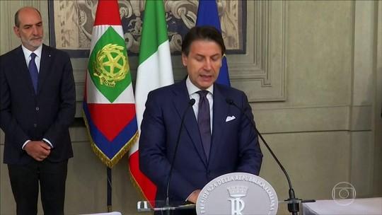 Presidente da Itália confirma coalizão e reconduz Conte ao cargo de primeiro-ministro