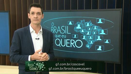 """Moradores de Nova Santa Rosa são convidados a participarem do """" O Brasil que eu quero"""""""