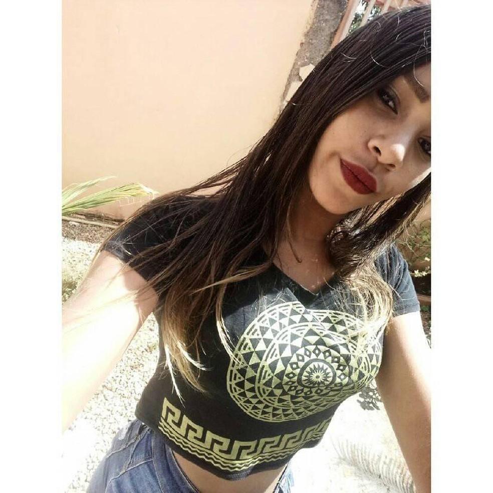 Dienifer Eliane dos Santos do Nascimento, de 16 anos — Foto: Arquivo Pessoal