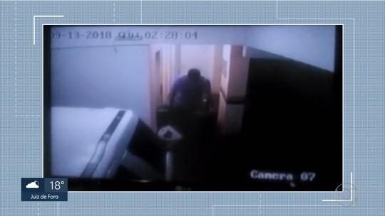 Vídeo mostra suspeito de fraude milionária deixando prédio horas antes da chegada da polícia em BH