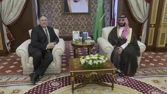 Secretário de Estado Americano está na Arábia Saudita