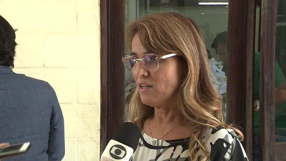 Livânia Farias, secretária de administração do Estado — Foto: Reprodução/TV Cabo Branco