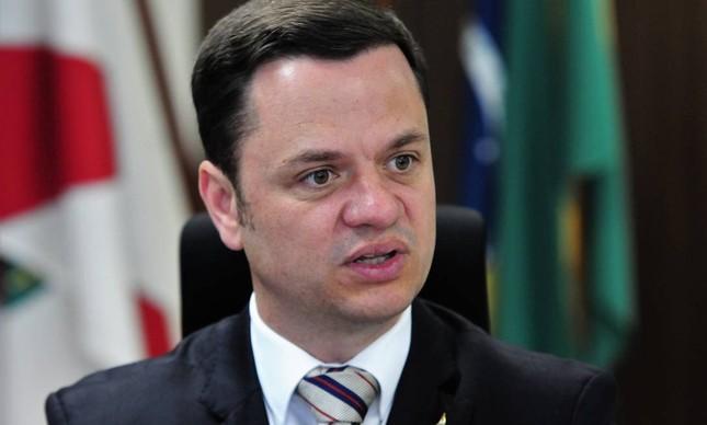 O secretário de Segurança Pública do DF, Anderson Torres