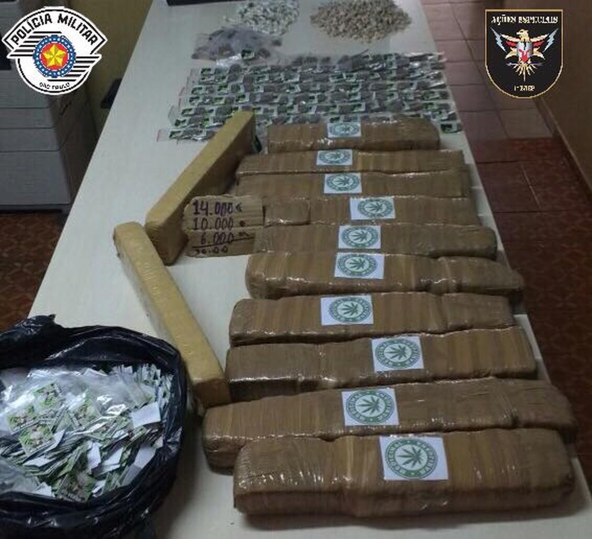 Polícia Militar apreende maconha, cocaína e crack escondida em buraco em Campinas
