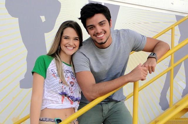 Rodrigo Simas e Juliana Paiva foram Bruno e Fatinha em 'Malhação' (Foto: Globo)