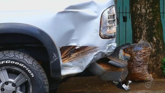 'Fiquei apavorada', diz motorista de caminhonete atingida por carro que atropelou grupo no réveillon