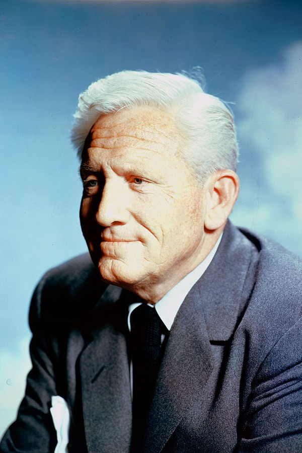 American actor Spencer Tracy (1900 - 1967), circa 1965 (Photo by Silver Screen Collection/Hulton Archive/Getty Images)       (Foto: Getty Images)