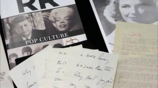 Pelo Mundo: Carta de amor de John Kennedy para a amante é leiloada por uma fortuna nos EUA