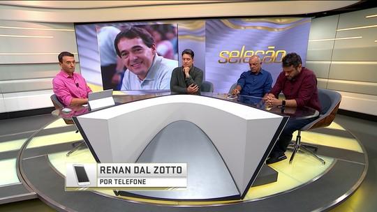 """Técnico da seleção, Renan Dal Zotto exalta Bebeto de Freitas: """"Fez a diferença"""""""