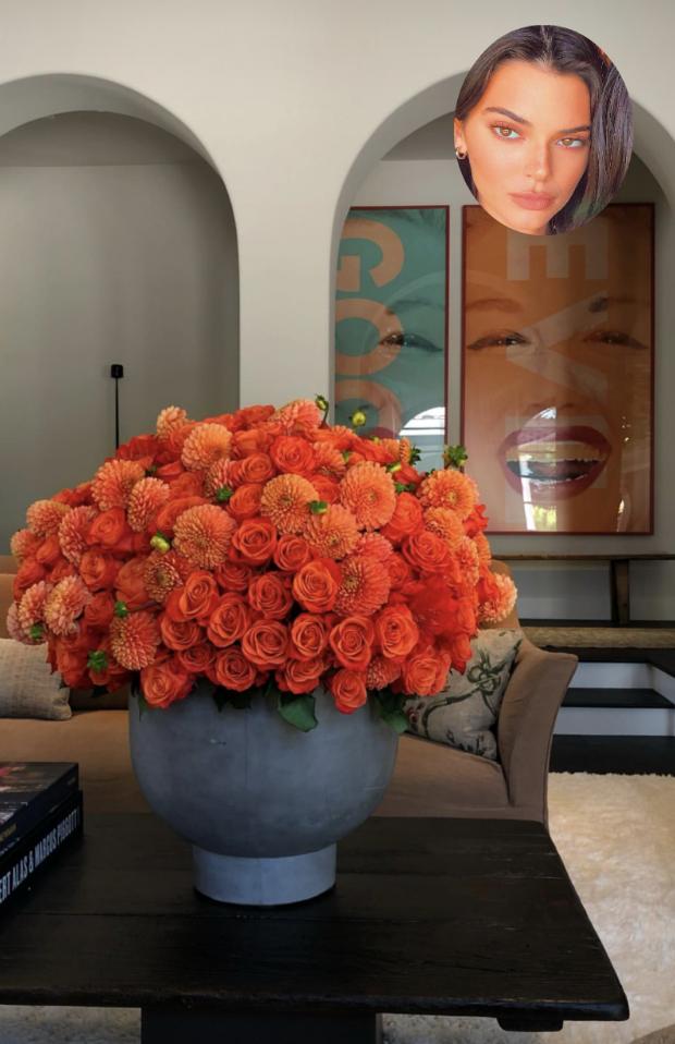 Mansão de Kendall Jenner em Beverly Hills (Foto: Instagram / Reprodução)